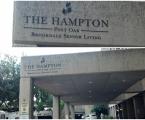 The Hampton Entrance