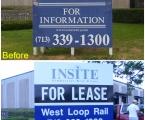 V-Formation Insite sign